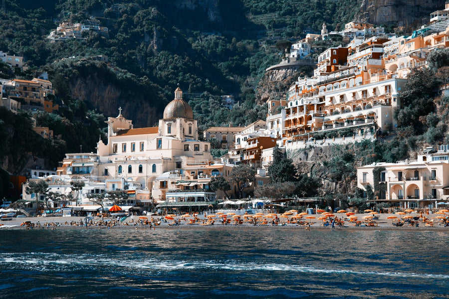Positano from the Boat