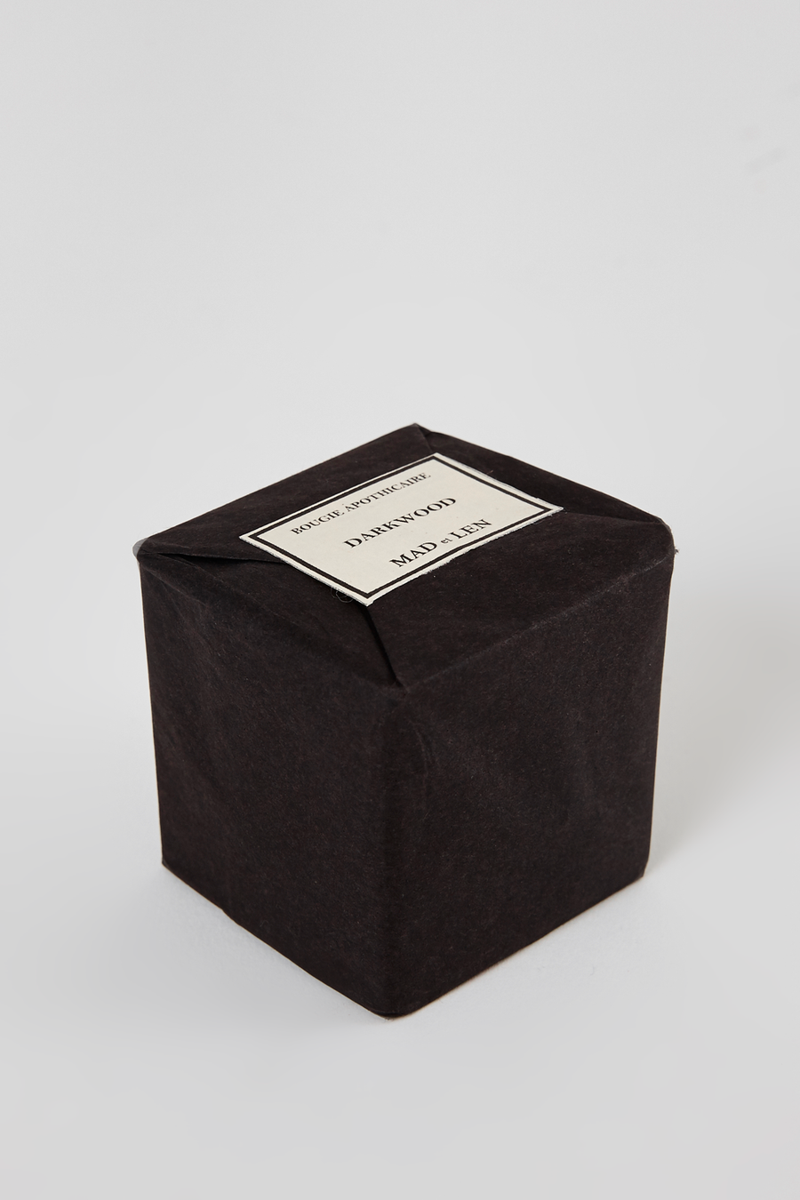 Black Bloc Mini Candle - Darkwood