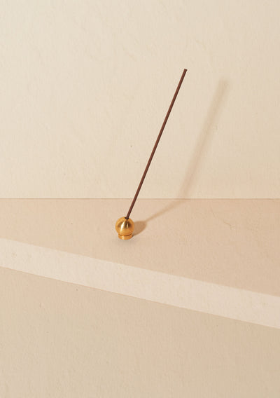 Ritual Incense Holder - Polished Brass