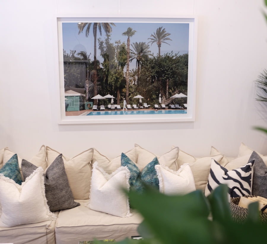 Pool & Palms - Stuart Cantor