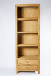 Elm Bookcase 2 Drawer