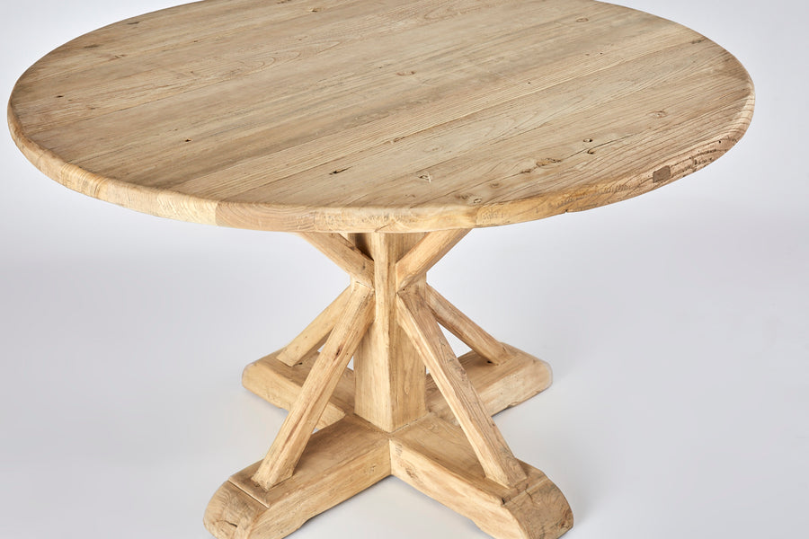 Elm Round Dining Table