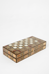 Moroccan Inlaid Backgammon Set