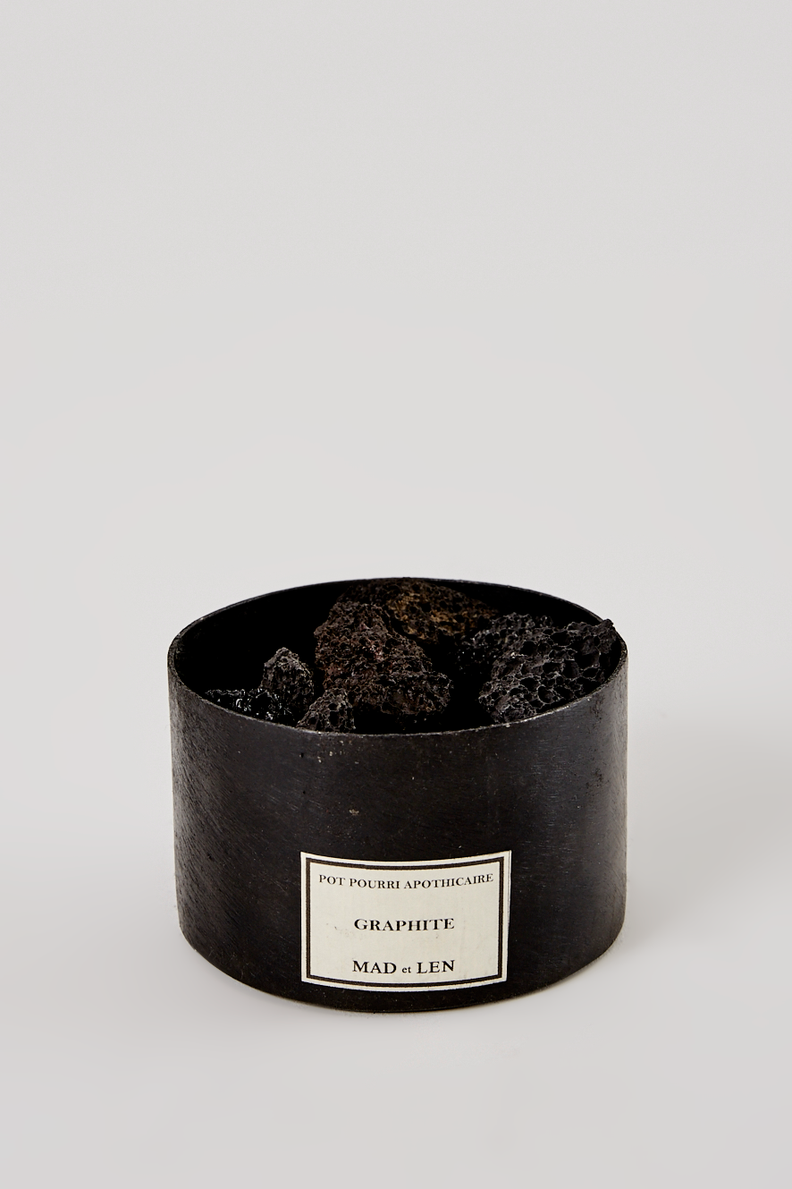 Pot Pourri Mini - Lava Rock + Graphite