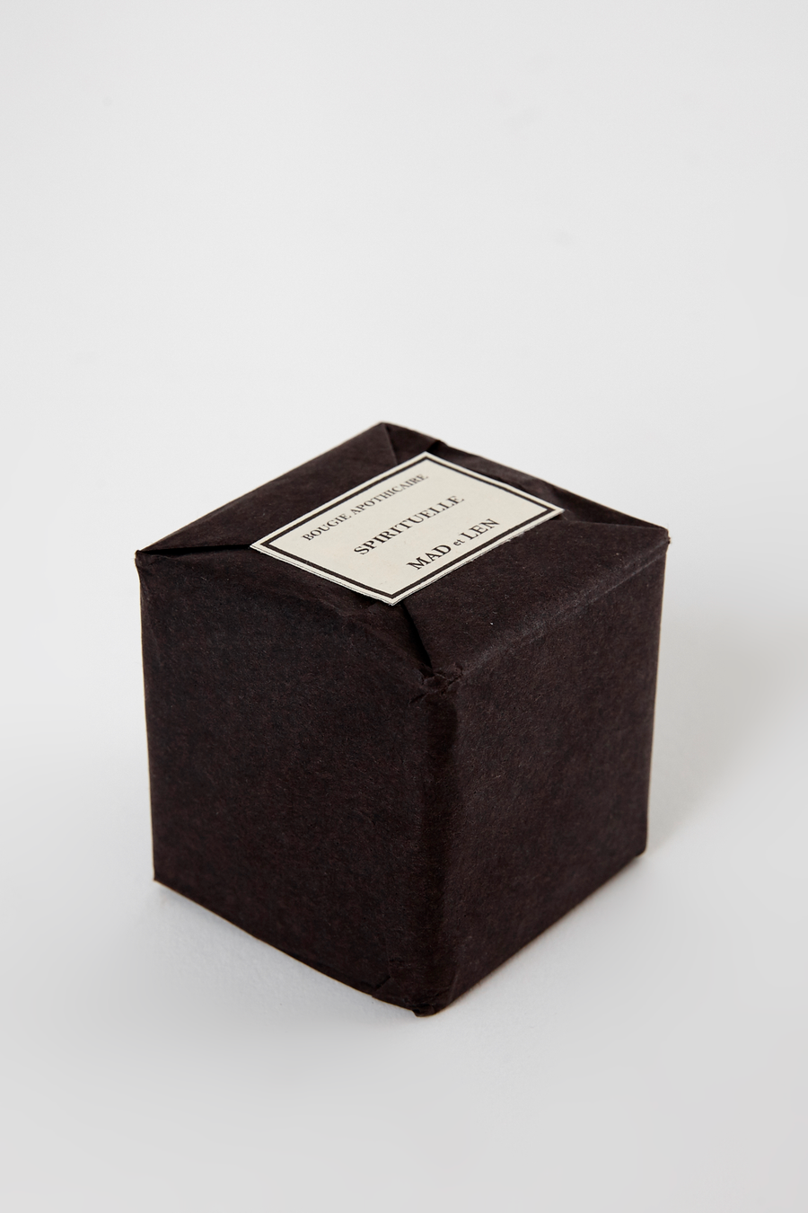 Black Bloc Mini Candle - Spirituelle