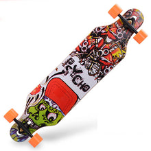 "CHI YUAN New cruiser 41"" x 9.5"" Professional Maple Longboard Skate board Skateboarding Complete"