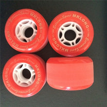 1Set(4 pcs) Blank Pro PU Cruiser Wheels 72X44mm 82A fit Drift Board Skateboard Longboard Skate Board Cruiser Freeline Board