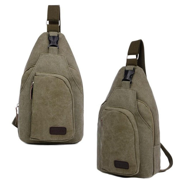2016 NEW Hot Sale japan Casual Canvas Mens Bag Unbalance Men Backpack Bags Crossbody Packs Chest Bag For Male #YH4S