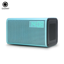 GGMM E3 Bluetooth Wi-Fi Speaker Stereo Sound with LED Clock Alarm USB Charging Port for Apple iOS Android Windows allow Spotify