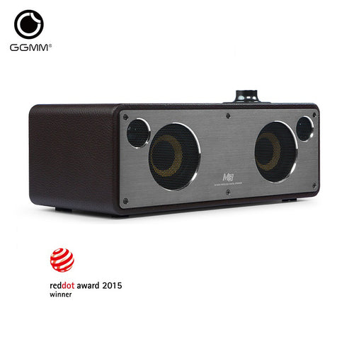 GGMM Reddot Award Bluetooth Speakers Wi-Fi Subwoofer Wireless Stereo Audio Receiver Bass Sound With Bluetooth / Wi-Fi / Aux in