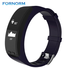 FORNORM Bluetooth 4.0 Smart Bracelet GPS Positioning Heart Rate Smartband Fitness Tracker Pedometer Sleep Monitor Call Reminder