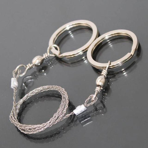 1pcs High Quality Stainless Steel Wire Saw Outdoor Practical camping Emergency Survival Gear Tools