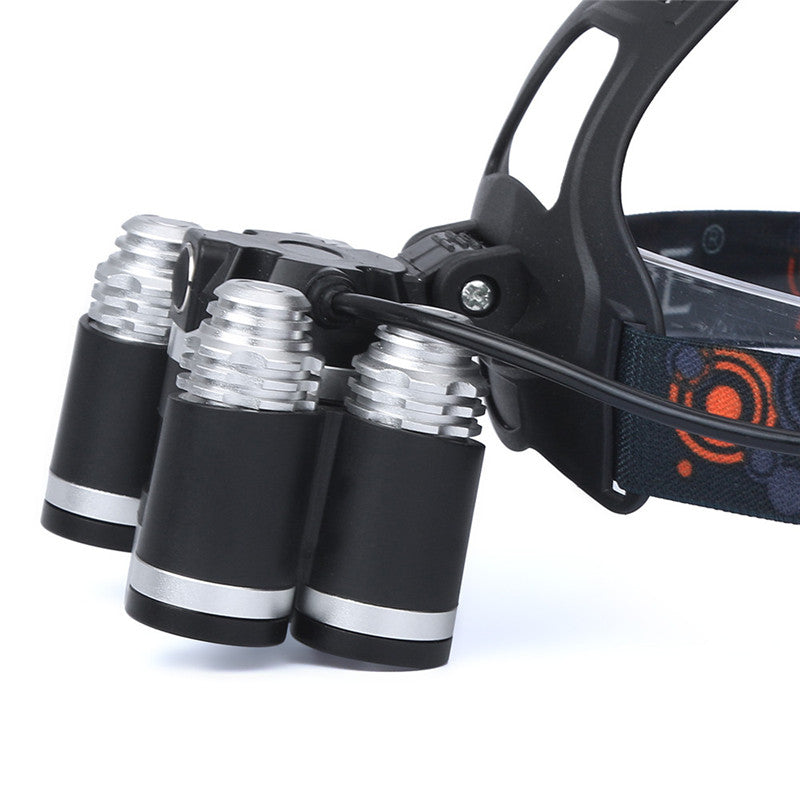 Flashlight 35000 LM 5X CREE XM-L T6 LED Rechargeable Headlamp Headlight Travel Head Torch Safety & Survival