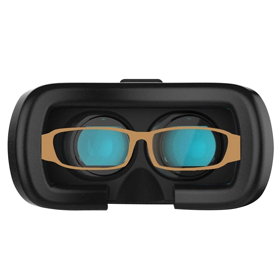 Glasses Virtual Reality Goggles VR Box 2.0 Headset VR Box 3D Glasses for Apple iPhone or Android Samsung