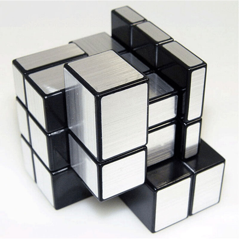 Global Drone 3x3x3 Professional Magic Cast Coated Puzzle Speed Cube Learning Education Magic Mirror Cube Toy