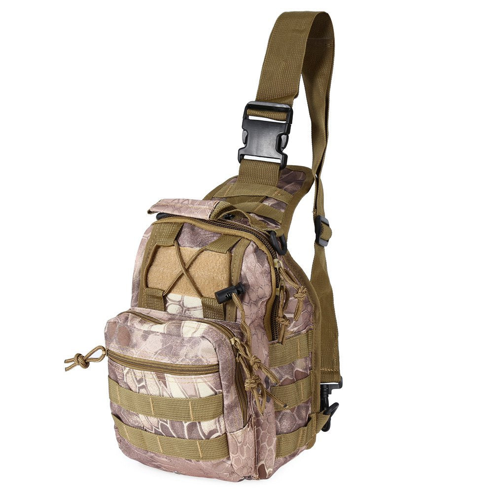 9 Color 600D Military Tactical Backpack, Camping Hiking Camouflage Bag Hunting Backpack Utility