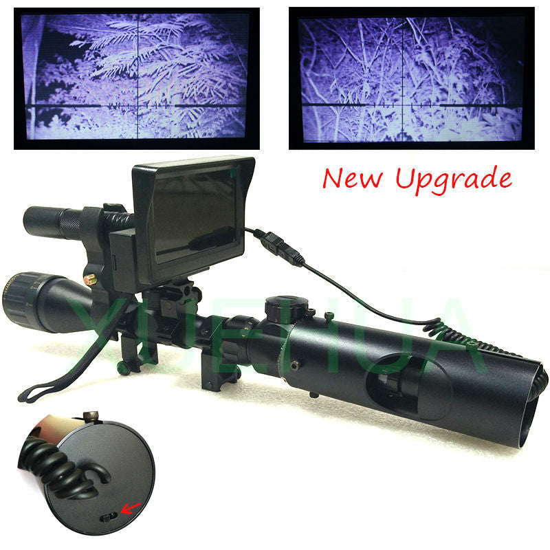 Upgrade Outdoor Hunting Optics Sight Tactical digital Infrared night vision telescope binoculars with  LCD use in day and night