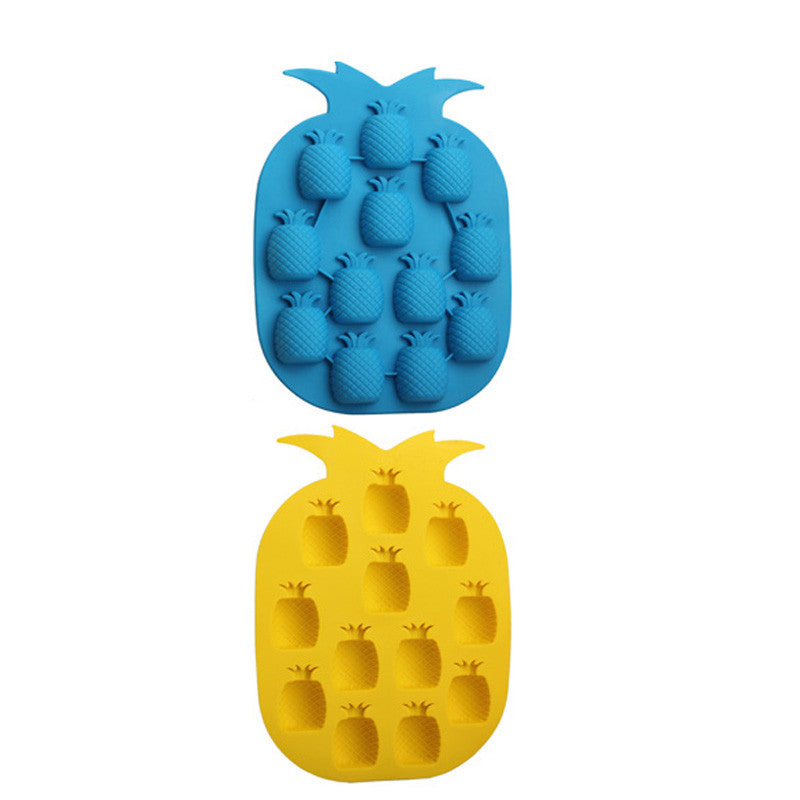 DIY Pineapple Shape Ice Mold Drink Ice Cream Cube Maker Bar Party Ice Tray Cube Freeze Mold Kitchen Bar Accessories