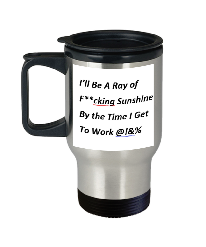 Ray of Sunshine Travel Coffee Mug