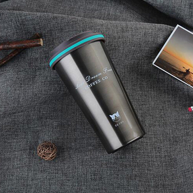 350ML Stainless Steel Thermos Cups Thermocup Insulated Tumbler Vacuum Flask Garrafa Termica Thermo Coffee Mugs Travel Bottle Mug