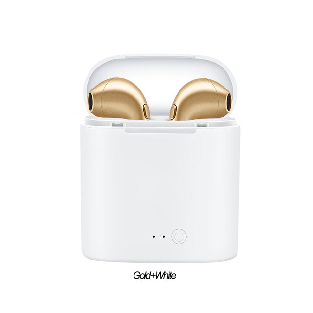 I7s Tws Bluetooth Wireless Earphones Earbuds Mini In-Ear Air Pods Headphones Stereo Earpiece With Mic For Iphone Samsung