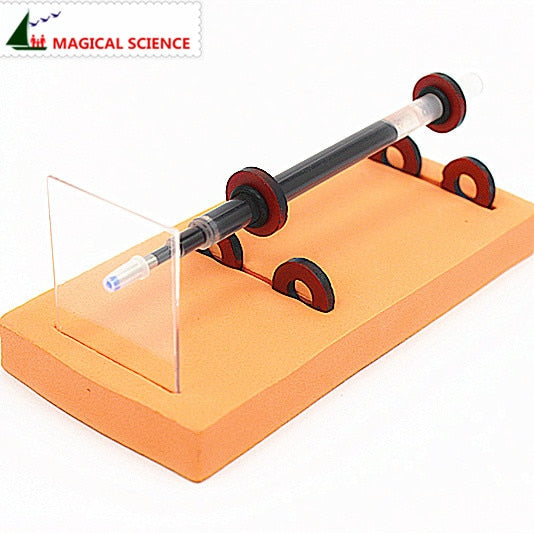 Physical experiment homemade Magnetic Levitation pen DIY materials, home school educational kit for kids & students