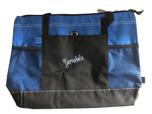 Yarnaholic™ Zippered Tote