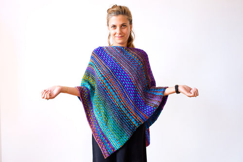 NightShift Shawl Kit w Urth Yarns 4 skein