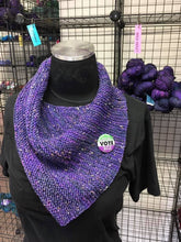 Empower Purple Bandana/Cowl Crochet Pattern