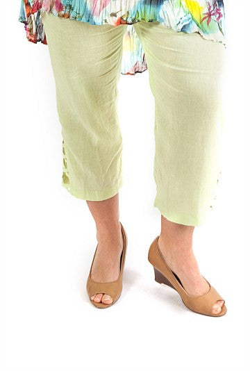 Green Criss-Cross Pant