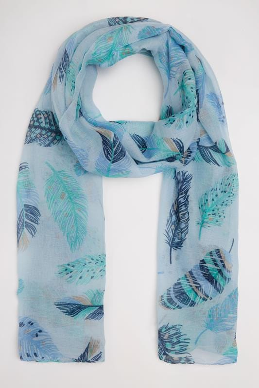 "Blue ""Birds of a Feather"" Scarf"