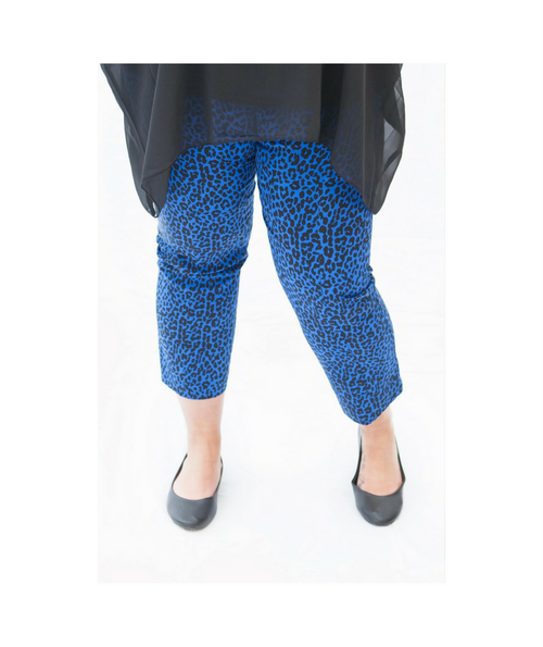 Blue Madison 7/8 Pants