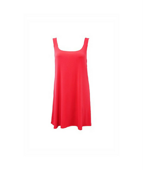 Extra Long Singlet - Coral