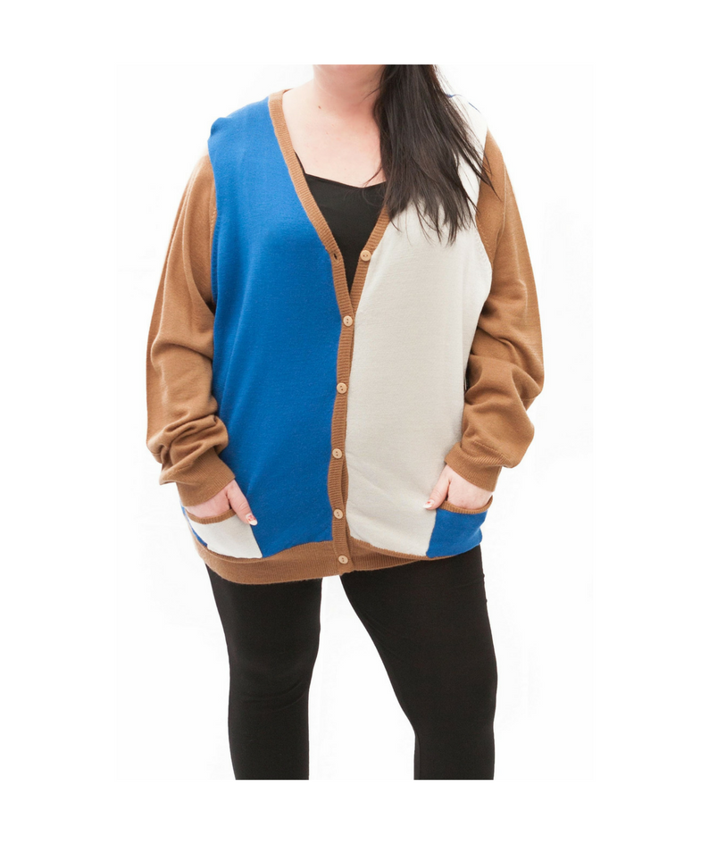High Style Block Colour Cardigan