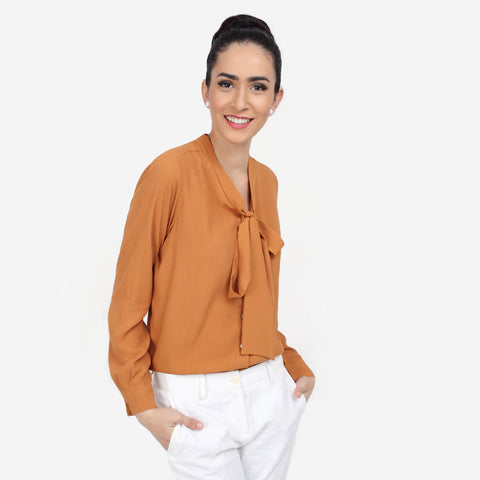 Rust Georgette Formal Top with Bow Tie formal shirts for women  formal shirts for women  no gape/no sheer shirts perfect shirt online luxury fabrics linen shirts cotton shirts for women white shirts for women luxury tops and shirts Designer Ladies' Shirts Online tailor fitted shirts online non-sheer white shirts Tailored Fits ladies shirts no gape shirts and tops button-down shirt striped shirts check shirts for women shirts and blouses business formal outfit women shirt  womens business shirts womens workwear online Shirt Formal shirt Formals Women's shirts Office wear Workwear women's fashion smart casual business casual semi formals formal shirts for women  formal white shirts for women cotton shirts for women premium shirts for  women work shirts for women premium essential clothing linen shirts tailor fitted shirts for women cotton shirts  georgette shirts fitted shirts relaxed fit shirts buy regular fit shirts online long shirts for women  formal shirt pattern shirt type tops for ladies branded formal shirts pastel shirts for women white shirt for women shirts for work ladies shirts for work womens best shirts for office  ladies shirts for office formal shirts for office shirt worn with bow tie bow tie shirts womens floral shirts ruffles shirt collar shirt for womens blue shirts printed shirts striped women's shirts semi formal shirts for women half sleeve shirts cuffed sleeve shirts black shirts for women black shirts casual shirts for women formal shirts design