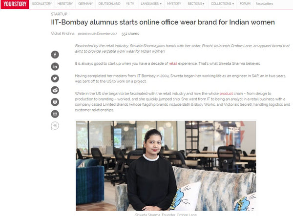 IIT-Bombay alumnus starts online office wear brand for Indian women