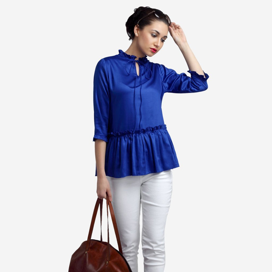 Ombré Lane Satin Royal Blue Peplum Top ajio tops ajio crop tops fancy tops on jeans lace tops solid tops cotton tops striped tops ruffles top long sleeve tops printed tops floral tops boat neck tops checked tops plaid tops formal tops for women black tops for women crop tops for women women tops amazon myntra women tops flipkart women tops tunic tops for women cotton tops for women white tops for women stylish tops for women