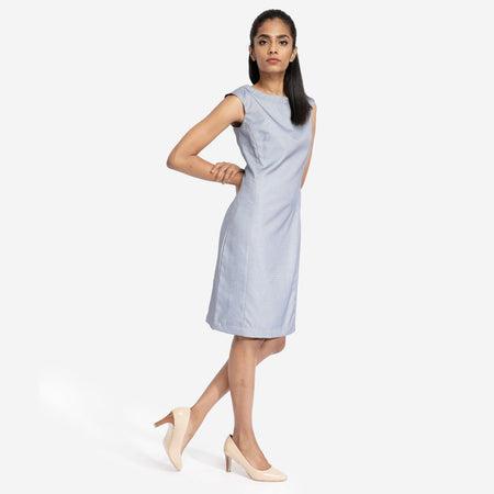 Buy Steel Blue Bodycon Dress at India's Best Online Shopping