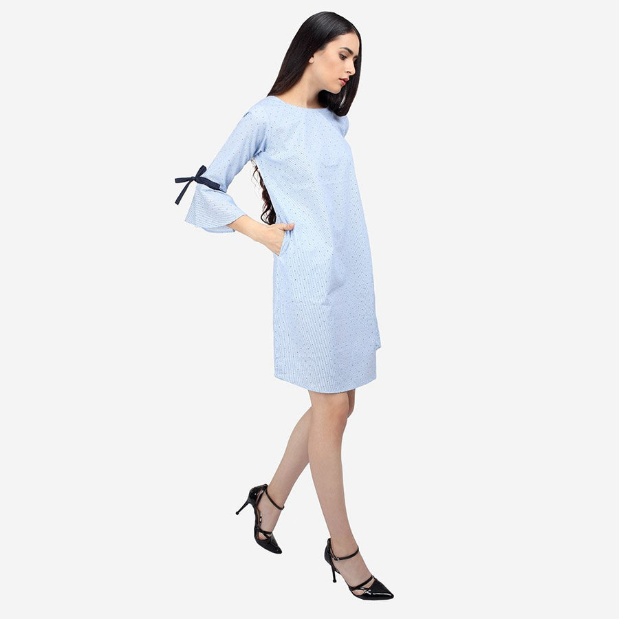 Ombré Lane Blue Cotton Striped Dress with Bell Sleeves online dresses dress design hot dress long dress ladies dress black dress latest dresses designs 2017 amazon offers today on dresses new dresses 2017 faballey dresses sexy white dresses indo western gown flipkart online shopping dresses womens with price prices for dresses online party wear dresses for ladies in india dresses for ladies summer dresses for ladies in india shein dresses online shein dresses india shein