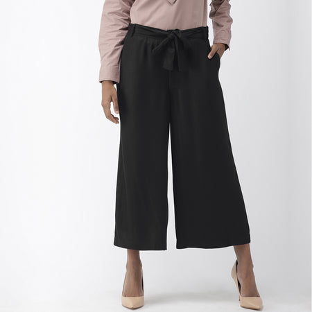 Navy Blue Ultra Soft Casual Culottes