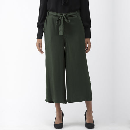 Olive Green Ultra Soft Culottes
