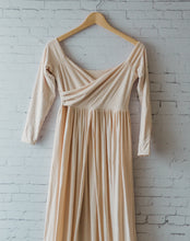 Breanna gown Champagne knit, xs