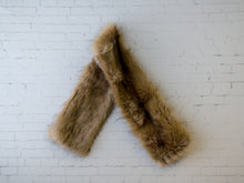 Brown Faux fur Edmonton Pinkstar Maternity couture Rentals