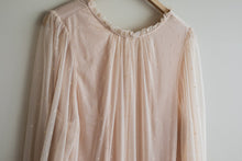 Baby Pink mesh dress sz med