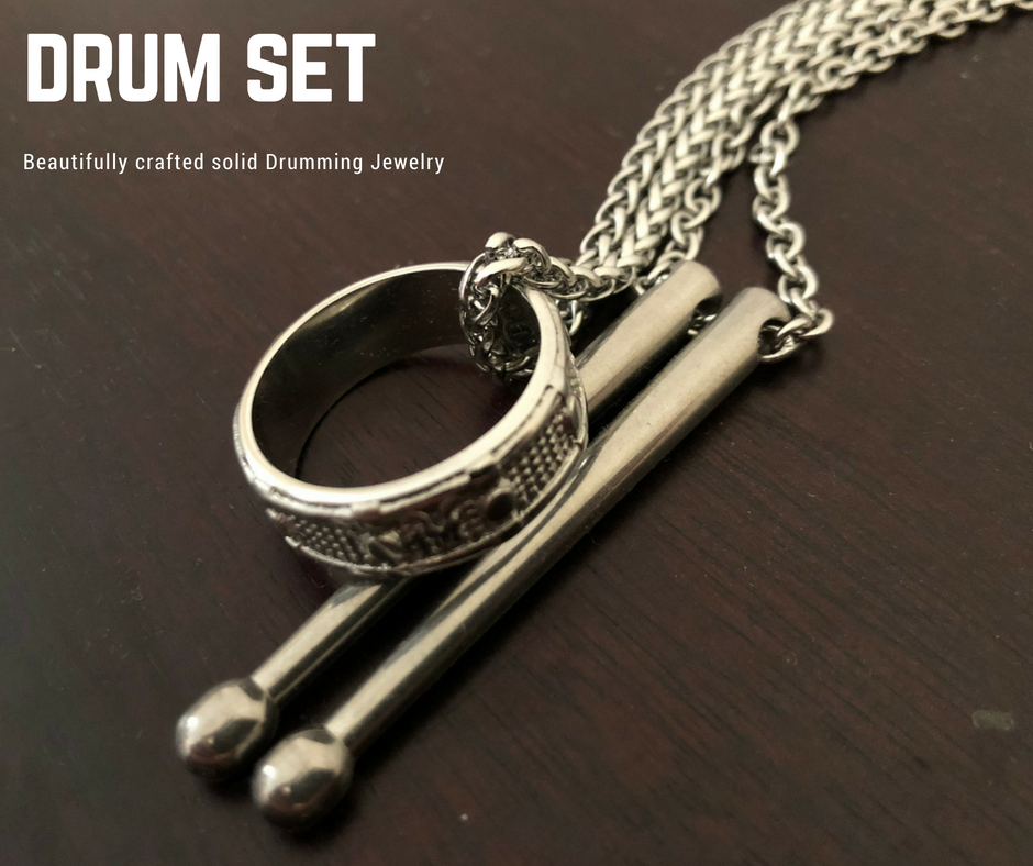 Cool Drum Necklace set