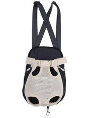Dog Carrier - Pet Carrier Dog Front Pouch; Front Chest Backpack; Cat Puppy Sling Shoulder Bag;