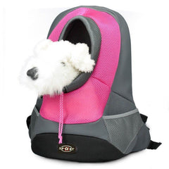 Dog Carrier - Pet Dog Carrier; Pet Backpack Bag; Portable Travel Pet Carry Shoulder Bag;