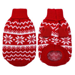 Dog Clothes - PET BONITO: Soft Sweater Puppy Dog Cat ~ Warm Winter Clothes Pets ~ Small Medium Dogs Chihuahua Cats