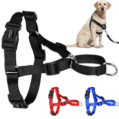 Dog Collars & Harness - No Pull  Nylon Dog Walking Harness  ~ Vest Fit For Medium Large Dog Pitbull Boxer