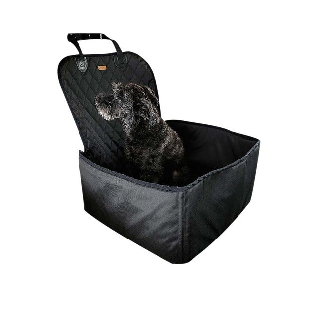 PET BONITO: Waterproof Dog Car Carrier ~ Pet Carry Storage Bag ~ Booster Seat Cover ~ 2 in 1 Carrier Bucket Basket